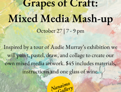 Grapes of Craft Mixed Media Madness