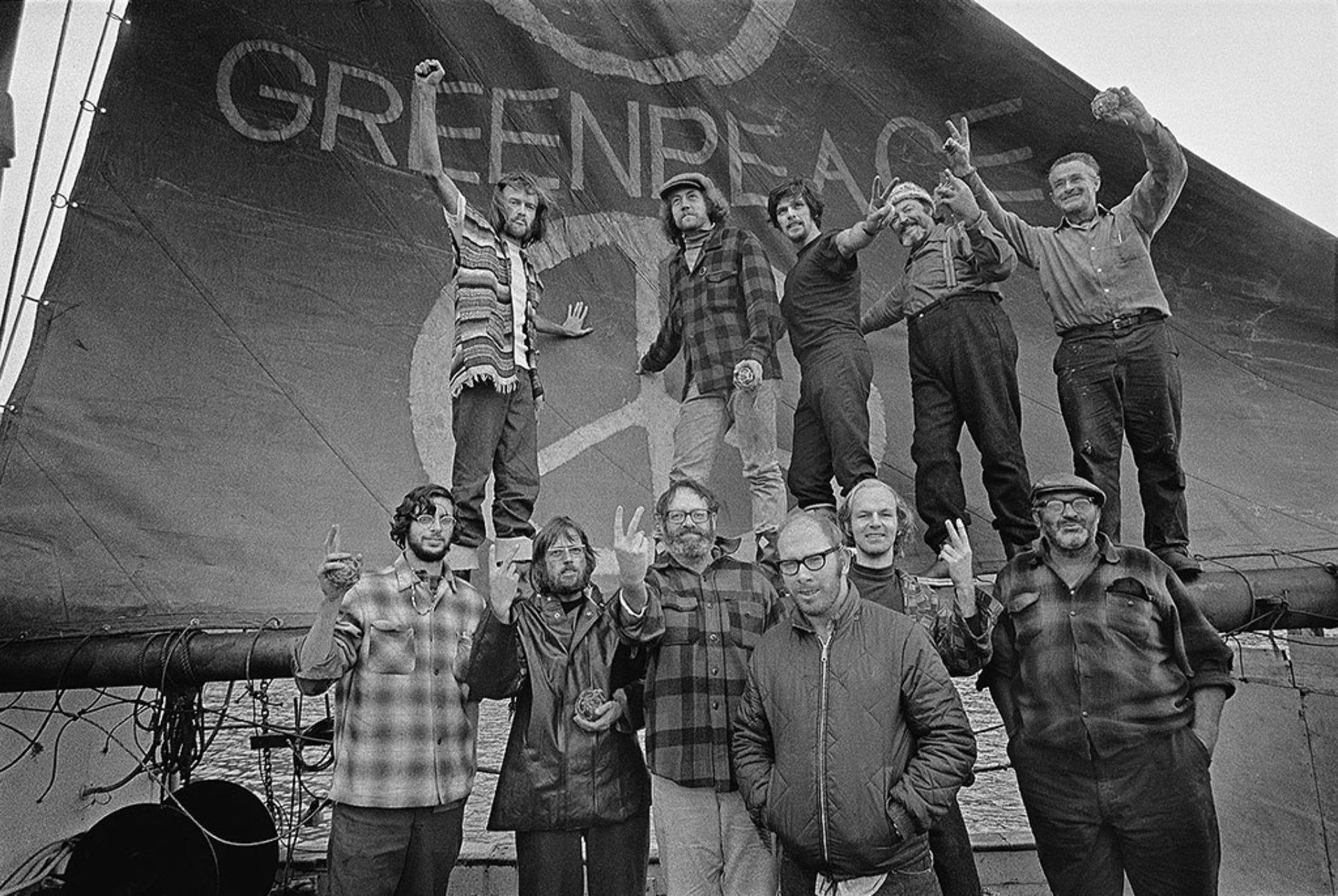Robert Keziere, GP-I  crew, with sail, 1971,